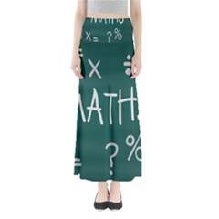 Maths School Multiplication Additional Shares Maxi Skirts by Mariart