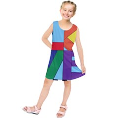 Rainbow Love Kids  Tunic Dress by Mariart