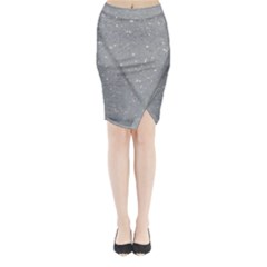 Lake Shine Midi Wrap Pencil Skirt