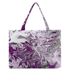 Colors Medium Zipper Tote Bag