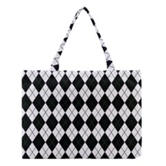 Plaid Pattern Medium Tote Bag