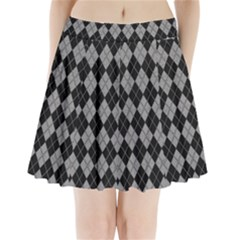 Plaid Pattern Pleated Mini Skirt