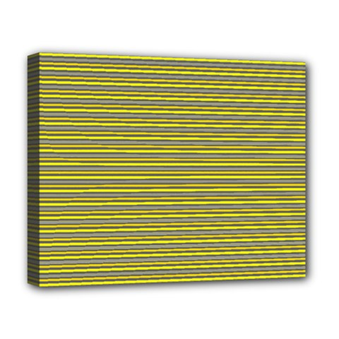 Lines Pattern Deluxe Canvas 20  X 16