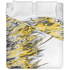 Fire Duvet Cover Double Side (california King Size) by Valentinaart