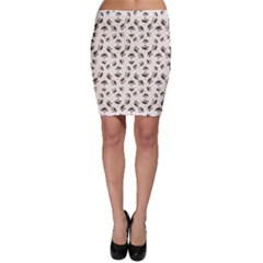 Autumn Leaves Motif Pattern Bodycon Skirt by dflcprintsclothing