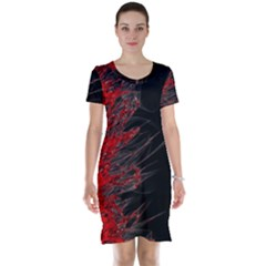 Fire Short Sleeve Nightdress