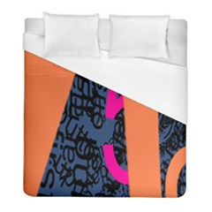 Recursive Reality Number Duvet Cover (full/ Double Size) by Mariart