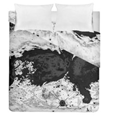 Abstraction Duvet Cover Double Side (queen Size) by Valentinaart