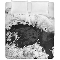 Abstraction Duvet Cover Double Side (california King Size)