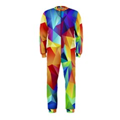 Triangles Space Rainbow Color Onepiece Jumpsuit (kids) by Mariart