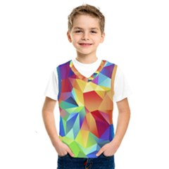 Triangles Space Rainbow Color Kids  Sportswear