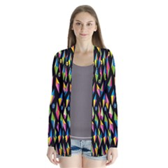 Skulls Bone Face Mask Triangle Rainbow Color Cardigans by Mariart