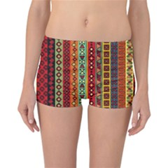 Tribal Grace Colorful Reversible Bikini Bottoms by Mariart