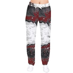 Abstraction Drawstring Pants by Valentinaart