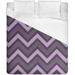 Zigzag Pattern Duvet Cover (california King Size)