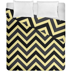 Zigzag Pattern Duvet Cover Double Side (california King Size) by Valentinaart