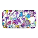 Lilac Lillys Samsung Galaxy S4 Classic Hardshell Case (PC+Silicone) View1