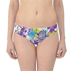 Lilac Lillys Hipster Bikini Bottoms by designworld65