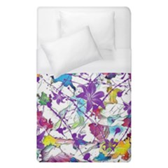 Lilac Lillys Duvet Cover (single Size) by designworld65