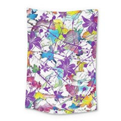 Lilac Lillys Small Tapestry