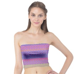 Pattern Tube Top by Valentinaart