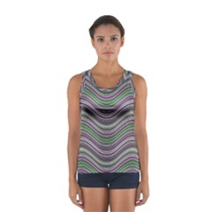 Abstraction Women s Sport Tank Top