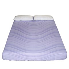 Abstraction Fitted Sheet (california King Size)