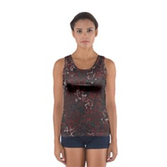Abstraction Women s Sport Tank Top  by Valentinaart