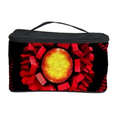 The Sun Is The Center Cosmetic Storage Case by linceazul