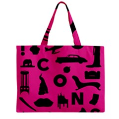 Car Plan Pinkcover Outside Mini Tote Bag by Mariart
