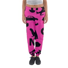 Car Plan Pinkcover Outside Women s Jogger Sweatpants by Mariart