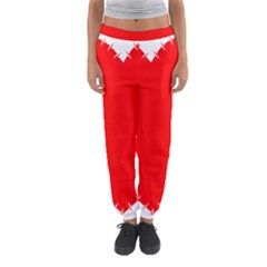 Heart Rhythm Inner Red Women s Jogger Sweatpants by Mariart