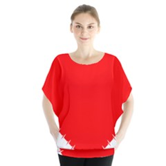 Heart Rhythm Inner Red Blouse by Mariart