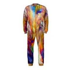 Rainbow Color Splash Onepiece Jumpsuit (kids) by Mariart