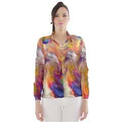 Rainbow Color Splash Wind Breaker (women) by Mariart
