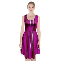 Abstraction Racerback Midi Dress