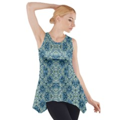 Modern Baroque Pattern Side Drop Tank Tunic by dflcprintsclothing