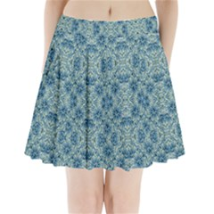 Modern Baroque Pattern Pleated Mini Skirt by dflcprintsclothing