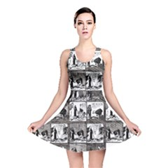 Comic Book  Reversible Skater Dress by Valentinaart