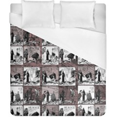 Comic Book  Duvet Cover (california King Size) by Valentinaart