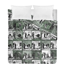 Comic Book  Duvet Cover Double Side (full/ Double Size) by Valentinaart