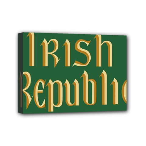 The Irish Republic Flag (1916, 1919 1922) Mini Canvas 7  X 5  by abbeyz71