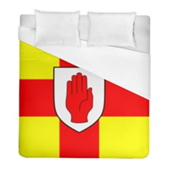 Flag Of The Province Of Ulster  Duvet Cover (full/ Double Size) by abbeyz71