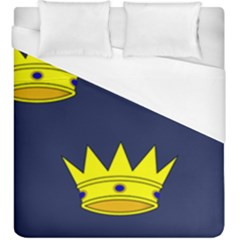 Flag Of Irish Province Of Munster Duvet Cover (king Size) by abbeyz71