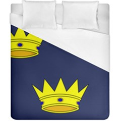 Flag Of Irish Province Of Munster Duvet Cover (california King Size) by abbeyz71