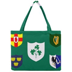 Ireland National Rugby Union Flag Mini Tote Bag by abbeyz71