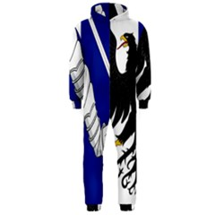 Flag Of Connacht Hooded Jumpsuit (men)  by abbeyz71