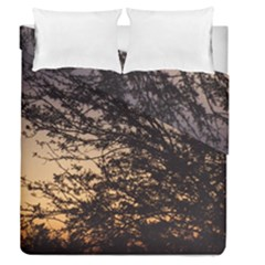 Arizona Sunset Duvet Cover Double Side (queen Size) by JellyMooseBear