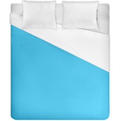 Neon Color   Brilliant Cerulean Duvet Cover (california King Size) by tarastyle