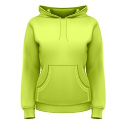 Neon Color   Light Brilliant Apple Green Women s Pullover Hoodie by tarastyle